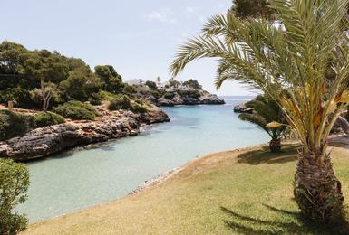 Platja Hotel AluaSoul Mallorca Resort (Només Adults) Cala d'Or, Mallorca