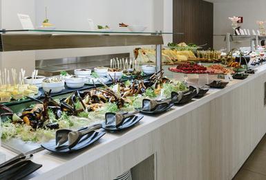Bufet Hotel AluaSoul Mallorca Resort (Només Adults) Cala d'Or, Mallorca